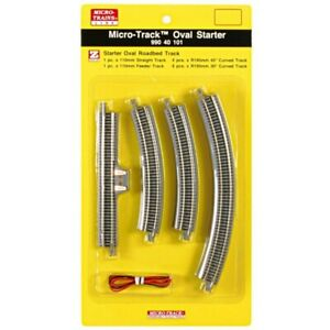Z Scale MTL Micro Trains 99040101 Oval Track Starter Set