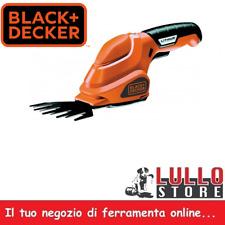 CESOIA A BATTERIA FORBICE TAGLIASIEPE TAGLIAERBA BLACK&DECKER 3.6V Mod. GSL 200