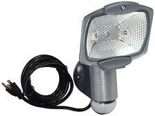 Cooper Lighting/Regent Light MS100PG 100-Watt Plug-In Motion-Activated Flood