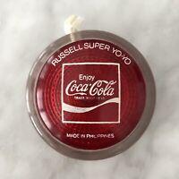 Rare Vintage Enjoy Coca-Cola Genuine Russell Super Yo-Yo, Philippines COKE 1970s
