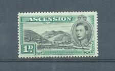 More details for ascension 1938 1d green mountain sg.39 mh