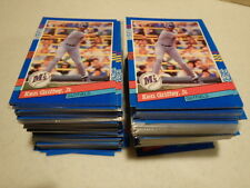 Lot of 100 - 1991 Donruss #77  Ken Griffey Jr. Near Mint