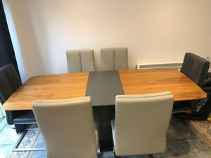 dinning table and chairs 6