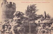 ROSNAY L'HOPITAL parc du château la grotte et la tour écrite 1932