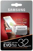 Micro SD 32GB scheda Memoria 95MB/s class 10 Samsung EVO plus UHS-I MicroSD Card