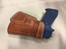 Leather SOB Holster - SIG P220 / P226, RUGER SR9 / SR40 (# 5226 BRN)