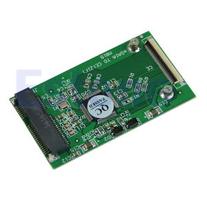 mSATA PCI-E SSD to 40pin ZIF CE Cable Adapter Card NEW
