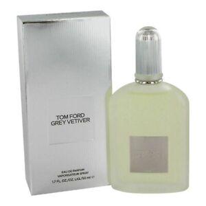 TOM FORD GREY VETIVER for MEN 1.7 oz (50ml) Eau de Parfum EDP Spray NEW & SEALED