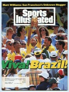 SI: Sports Illustrated July 25, 1994 World Cup: Viva Brazil, Soccer, VERY GOOD