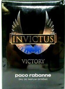 PACO RABANNE INVICTUS VICTORY EXTREME EAU DE PARFUM SPRAY FOR MEN 3.4 Oz / 100ml
