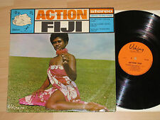 LP POLYNESIAN MUSIC ACTION SERIES - FIJI MILITARY FORCES BAND - ACTION FIJI