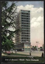 cartolina SESTO S.GIOVANNI-rondò-nuovo grattacielo