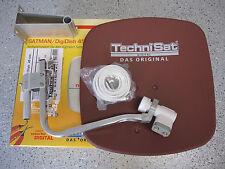 TechniSat Digidish45 mit Twin-LNB (2Teilnehmer) mit TechniSat TechniBox S4, neu
