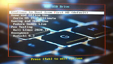 EDC Linux Live USB: Kali, Zorin, Kodachi, Fedora: Home Gaming Anonymous Pentest