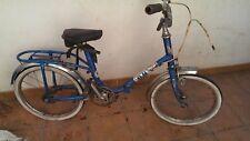 Bicicleta bh infantil plegable azul completa coleccion