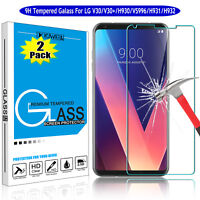 For LG V40/V30/V35/V20/V50 ThinQ 5G Premium Tempered Glass Screen Protector Film
