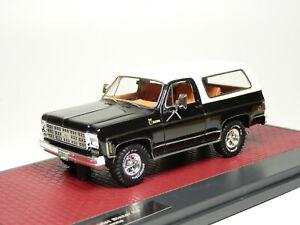 Matrix MX20302-383 1/43 1978 Chevrolet Blazer K5 Cheyenne Resin Model Car