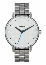 **BRAND NEW** NIXON WATCH THE KENSINGTON SILVER / ANTIQUE A0992701 NEW IN BOX!