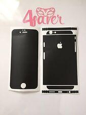 Noir Mat Apple iPhone 6 Peau Protection Collante Film De Protection Decal Design