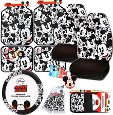 Disney Mickey Mouse Car Seat Covers Accessories Expressions 11pc Set