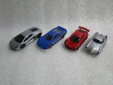 4 x Hot Wheels Masserati , Alfa Romeo Bat 9 , Saleen , Lamborghini  Diecast Cars