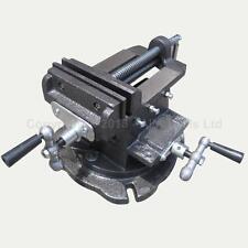 10.2 cm Mecánico Base Giratoria Cruz Multi Direction Fresado Banco Mordaza