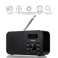 Tragbares digitales DAB/ DAB+/ FM Radio LCD-Display Batterie- und Netzbetrieb