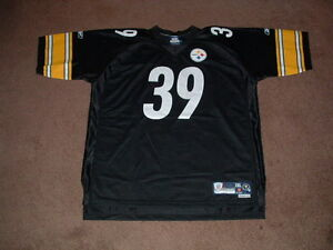 WILLIE PARKER #39 PITTSBURGH STEELERS PREMIER HOME FOOTBALL JERSEY 2XLARGE NEW