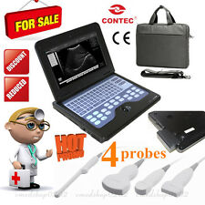 Promotion New Portable Laptop Ultrasound Scanner Machine with 4 Probes for human