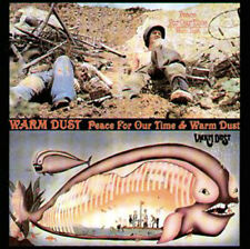 CD - Warm Dust / Peace For Our Time & Warm Dust (2 in 1 CD) (8434)