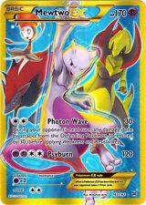 x1 Mewtwo-EX - 163/162 - Secret Rare Pokemon XY Breakthrough M/NM