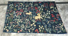 Antique French Style Handmade Aubusson Rug NeedlePoint Repair Blue Wool Area Rug