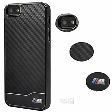 BMW M Real Carbon Fiber iPhone 5, 5s ,SE Hard Case Back Cover Schutz Hülle