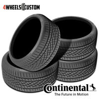 4 X New Continental ExtremeContact DWS06 255/45ZR19XL 104W Tires