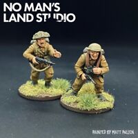 Pro Painted WW2 British HQ Team - 28mm 1/56 - Bolt Action/ Warlord Games New
