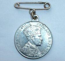 Rare 1937 British Royalty King Edward VIII Coronation Medal - NO RESERVE