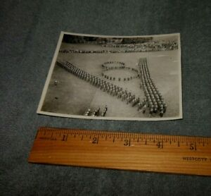 Vintage World War 2 8th Air Force Parade Picture Original