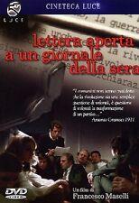 LETTERA APERTA A UN GIORNALE DELLA SERA  DVD STORIA