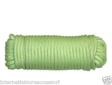 """Guy Rope 3/16""""  x  15m / 50ft - Glow In The Dark  - Camping / Tent"""