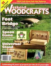 Weekend Woodcrafts Magazine August 2002 Issue 52