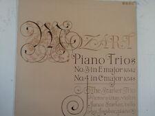 LP MOZART Piano Trios 3 + 4  THE STARKER TRIO XID 5235
