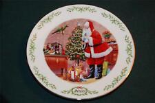 LENOX/Victorian Santa Lt Ed Plate: 2000 - Papai Noel (Brazilian Santa)