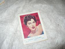 FADOS E CANCOES N.3 1959 IN COPERTINA AVA GARDNER MILU GRAFICA DA BATALHA PORTO