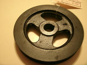 1965 FORD MUSTANG & FALCON 6 CYLINDER POWER STEERING PUMP PULLEY with A/C