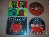 U2 - Please - CD 1 & 2 Set - 2 Disc Set  Ex Condition - Fast Postage - Rare
