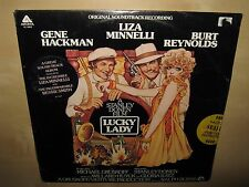 LUCKY LADY OST Soundtrack Liza Minnelli Bessie Smith SEALED LP AL4069 Ralph Burn