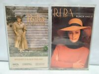Reba McEntire Lot of 2 Cassette Tape - Rumor has it / Whoever's in New England