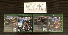 Call of Duty 2 & 3 Cover Art Empty Replacement Original Case Xbox One 360 Custom