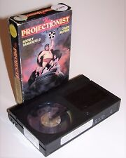 Vintage 1986 The Projectionist BETA Video Cassette Movie from Vestron - RARE!