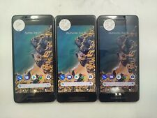 Lot of 3 Google Pixel 2G011A 64GB Unlocked Check IMEI Poor Condition DA-773